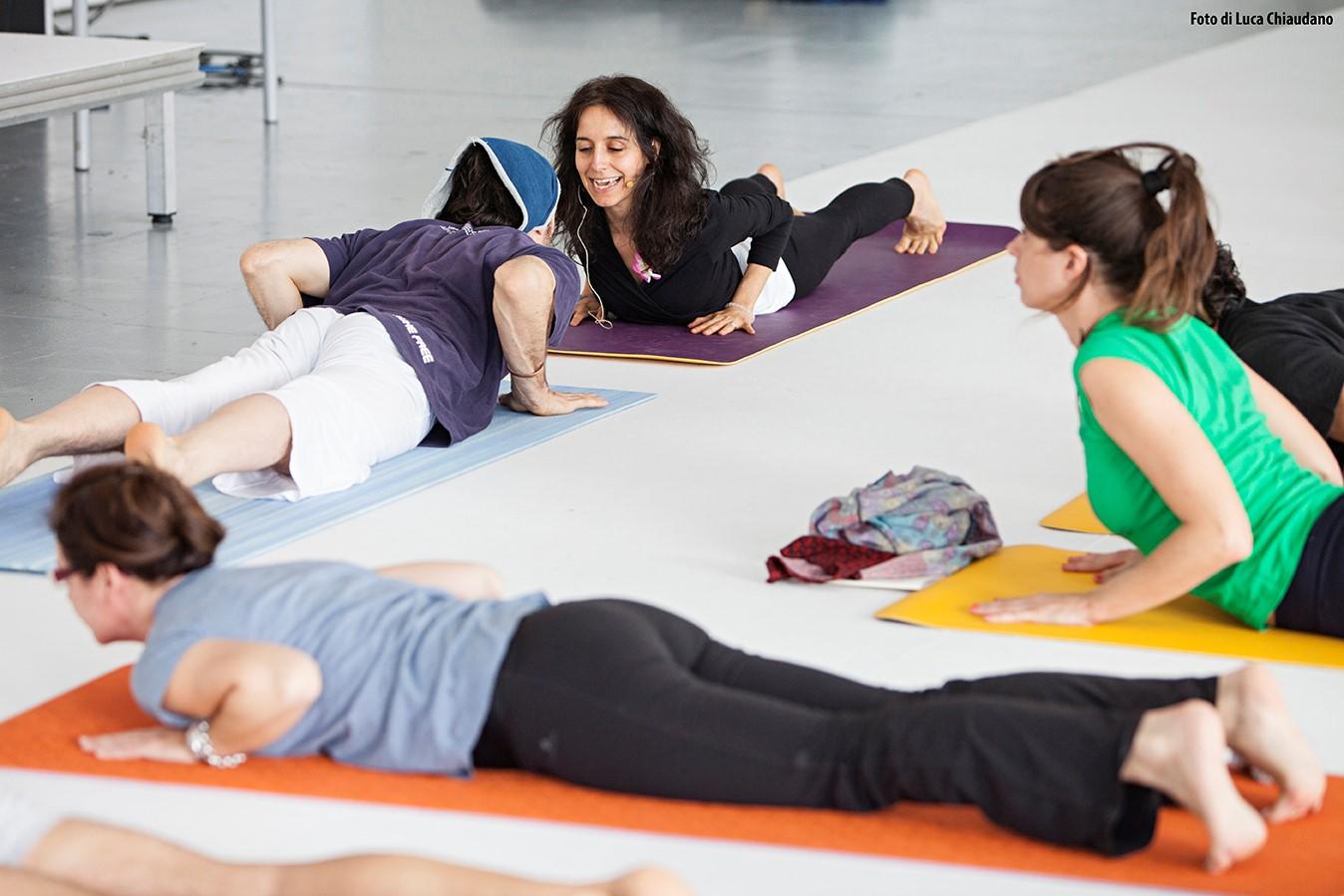 Training yoga dinamico alla coppia