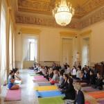 lezioni di Sharon Gannon allo Yoga tour IoDonna