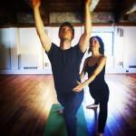 Fare yoga con IODonna 2015 con Benedetta Spada e Andrea Bosca