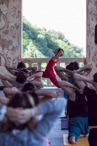 Master class yoga festival di Benedetta Spada