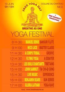 Evento maggiore per la diffusione dello yoga